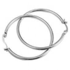Серьги-кольца медсталь