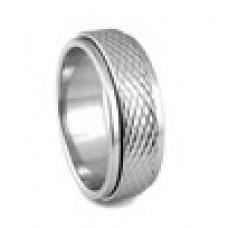 Кольцо медсталь двухслойное со скользящей поверхностью