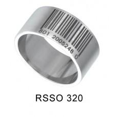 Кольцо медсталь со штрих-кодом