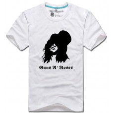 T-SHIRT SLASH GUNS'N'ROSES (WHITE)
