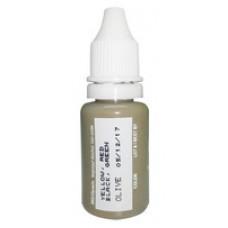 Olive Micro Pigment Biotouch пигмент для татуажа Биотач