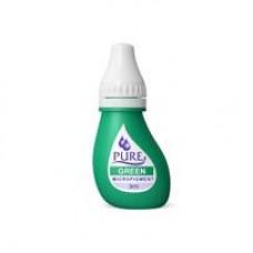 Green Pure Pigment 3 ml Серия чистых пигментов 3 мл