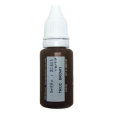 True Brown Micro Pigment Biotouch пигмент для татуажа Биотач