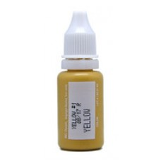 Yellow Micro Pigment Biotouch пигмент для татуажа Биотач