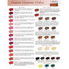 Палитра цветов Custom Cosmetic отправляется в виде .jpeg файла на электронную почту