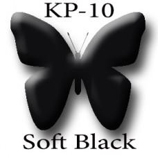 KP-10 Soft Black мягкий чёрно-коричневый пигмент для татуажа Micro Plante PMU K.P. Beauty Products