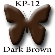 KP-12 Dark Brown тёмно-коричневый пигмент для татуажа Micro Plante PMU K.P. Beauty Products