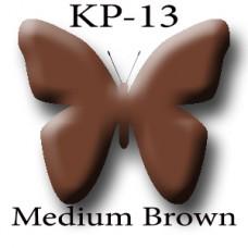 KP-13 Medium Brown сбалансированный коричневый пигмент для татуажа Micro Plante PMU K.P. Beauty Products