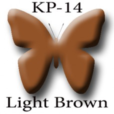 KP-14 Light Brown светло-коричневый пигмент для татуажа Micro Plante PMU K.P. Beauty Products