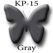 KP-15 Gray 1 (Dark Gray) тёмно-серый пигмент для татуажа Micro Plante PMU K.P. Beauty Products