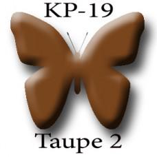 KP-19 Taupe 2 (Bronze) серо-коричневый (бронзовый) пигмент для татуажа Micro Plante PMU K.P. Beauty Products
