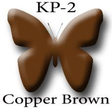KP-02 Copper Brown бронзово-коричневый пигмент для татуажа Micro Plante PMU K.P. Beauty Products