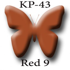 KP-43 Red 9 (Сaramel) красно-карамельный пигмент для татуажа Micro Plante PMU K.P. Beauty Products