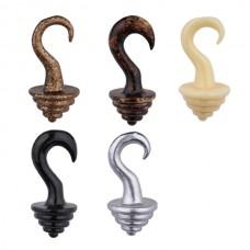 Расширитель в ухо биопласт - декоративная серьга