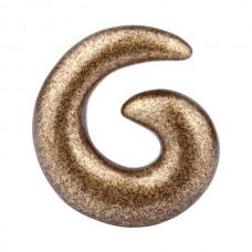 Расширитель в ухо биопласт - спираль 14 мм
