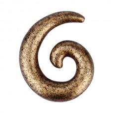 Расширитель в ухо биопласт - спираль 5 мм