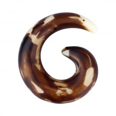 Расширитель в ухо биопласт - спираль 8 мм