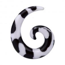 Расширитель в ухо биопласт - спираль 3 мм