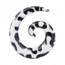 Расширитель в ухо биопласт - спираль 6 мм