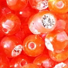 Сменные части -  шарик биопласт цветной с кристаллом