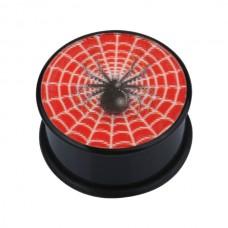 Плаг биопласт с рисунком - паук