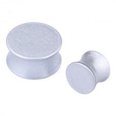 Плаг биопласт перламутровый - серебро