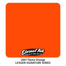 Flame Orange Eternal Tattoo Ink краска Этернал набор Levgen