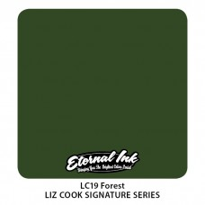 Forest тёмно-зелёная краска Этернал