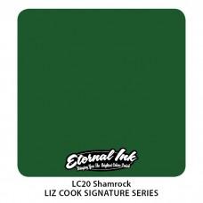 Shamrock зелёная краска Клевер Этернал
