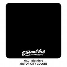 Blackbird чёрная краска Дрозд Этернал Motor City