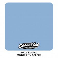 Exhaust серо-голубая краска Выхлоп Этернал Motor City