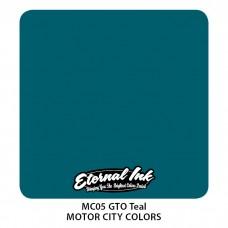 GTO Teal бледно-синяя ккраска Этернал Motor City