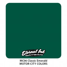 Classic Emerald изумрудно-зелёная краска Этернал Motor City