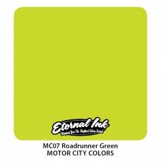 Roadrunner Green ярко-зелёная краска Плимут Роудраннер Этернал Motor City