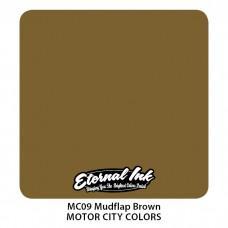 Mudflap Brown серо-коричневая краска Брызговик Этернал Motor City