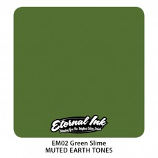 Green Slime зелёная краска Этернал Muted Earth Tones
