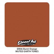 Burnt Orange коричневая краска Этернал Muted Earth Tones