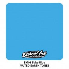 Baby Blue синяя краска Этернал Muted Earth Tones