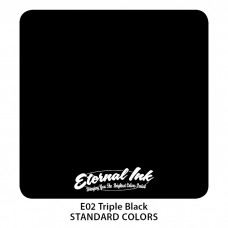 Triple Black Eternal Tattoo Ink чёрная концентрированная краска для затушёвки Этернал