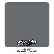 Gray Eternal Tattoo Ink серая краска Этернал
