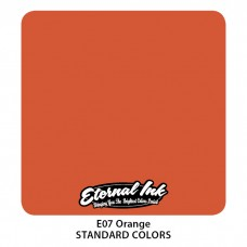 Orange Eternal Tattoo Ink оранжевая краска Этернал