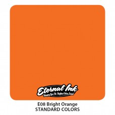 Bright Orange Eternal Tattoo Ink ярко-оранжевая краска Этернал