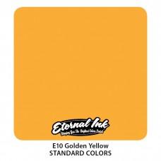 Golden Yellow Eternal Tattoo Ink жёлтая краска Этернал