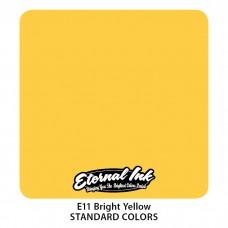 Bright Yellow Eternal Tattoo Ink ярко-жёлтая краска Этернал