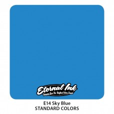 Sky Blue Eternal Tattoo Ink небесно-голубая краска Этернал