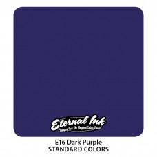 Dark Purple Eternal Tattoo Ink тёмно-фиолетовая краска Этернал