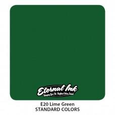 Lime Green Eternal Tattoo Ink краска Зеленый Лайм Этернал