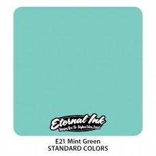 Mint Green Eternal Tattoo Ink мятно-зеленая краска Этернал