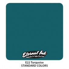 Turquoise Eternal Tattoo Ink бирюзовая краска Этернал