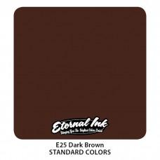 Dark Brown Eternal Tattoo Ink тёмно-коричневая краска Этернал